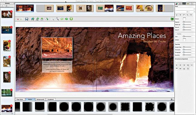 Bay Photo's new Bay Designer software is focused on book and album design, with an easy drag-and-drop workflow.