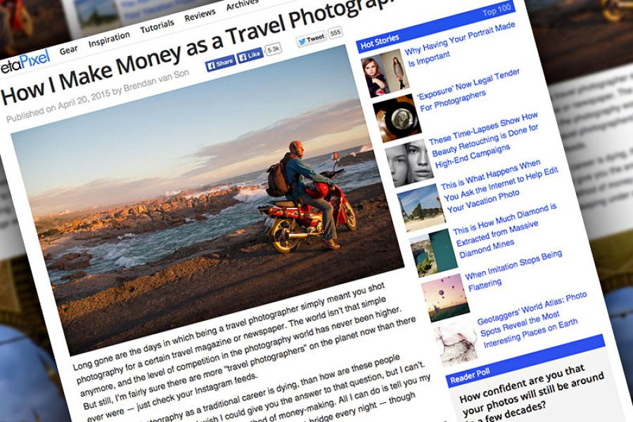 How One Travel Photographer Earns His Living