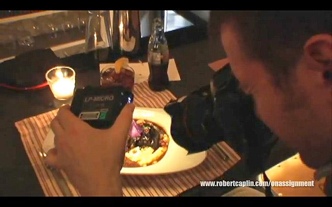 How To Shoot Food In The Dark