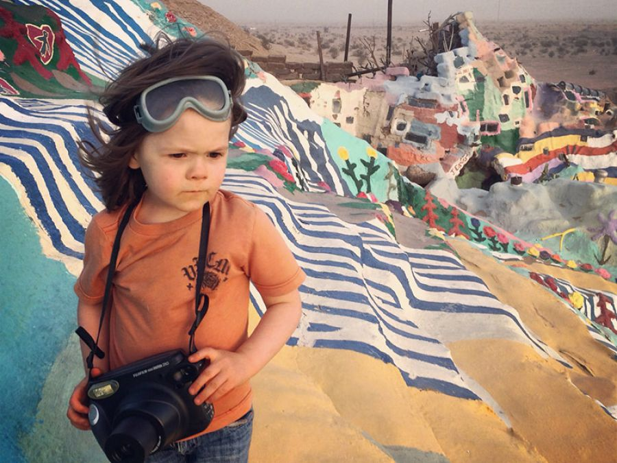 Five-Year-Old Photographer Plans Photo Book