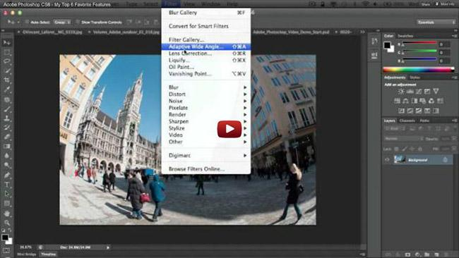 Find Your Favorite Feature Of Photoshop CS6