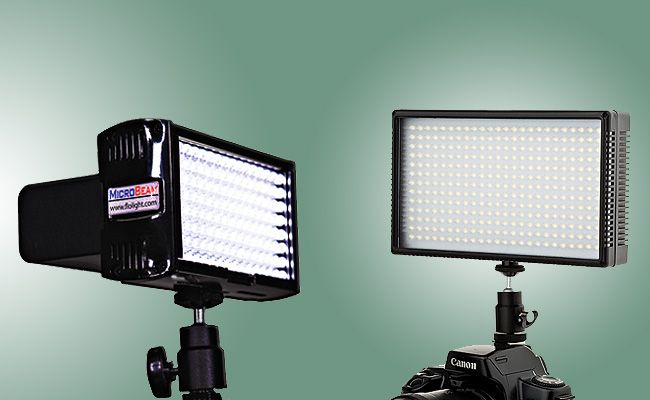 Continuous Lights For Still & Video