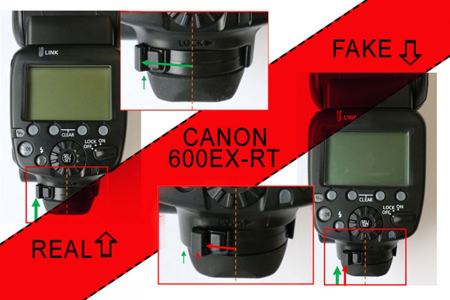 Canon Warns Against Fake Flashes