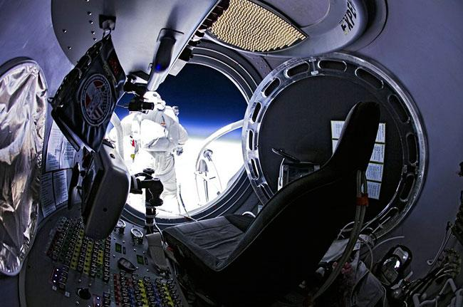 Felix Baumgartner's Record-Setting Space Jump