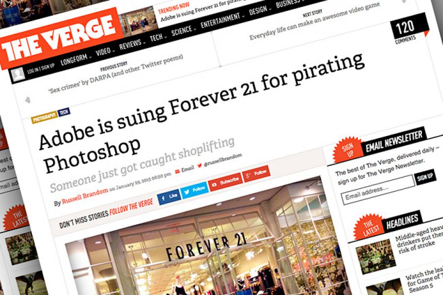 Adobe Accuses Retailer Of Pirating Photoshop