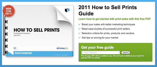 Free Guide To Selling Prints Online