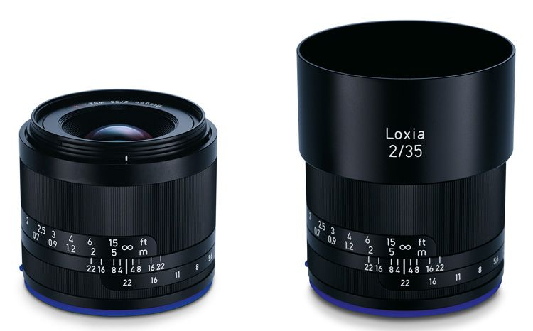 Zeiss Loxia 2/35 and Loxia 2/50 Lenses