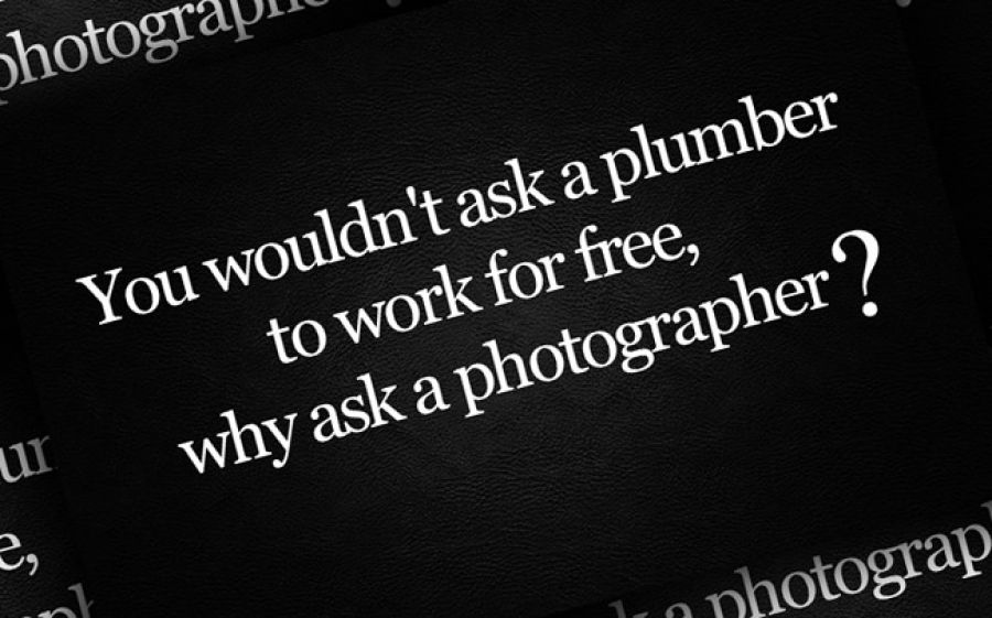 On Photographers Working For Free