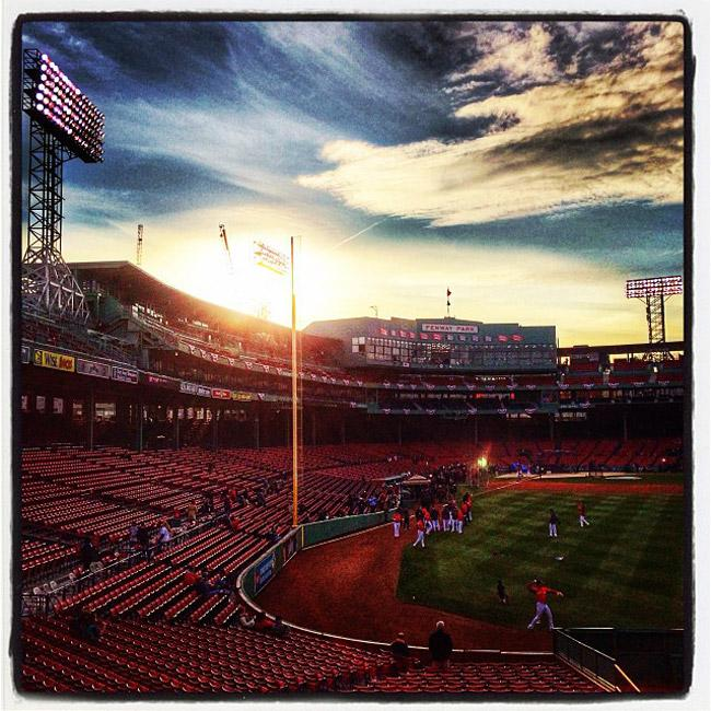 Instagramming The World Series