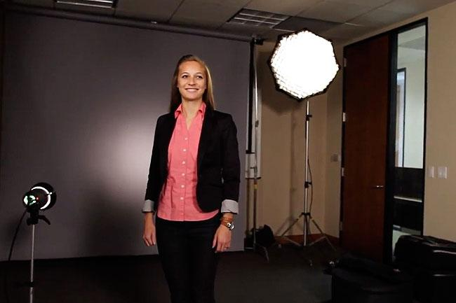 Corporate Portrait BTS Video