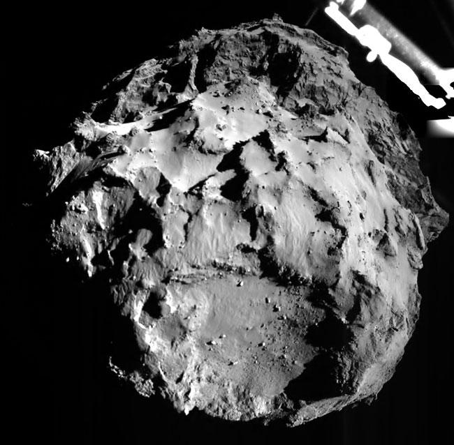 Photos From The Surface Of A Comet