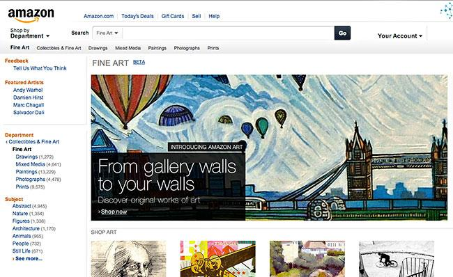 Amazon's Fine Photography Marketplace