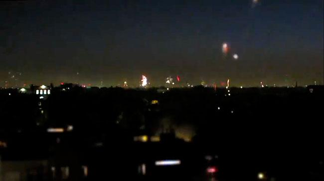 Fireworks Time Lapse