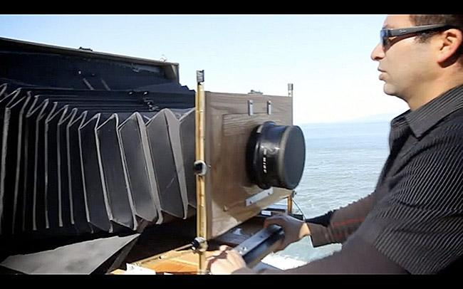 A Really Large Format Camera That Uses X-Ray Film