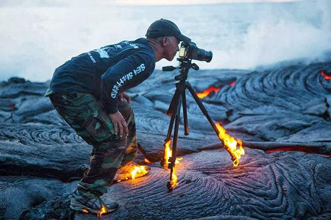 This Photographer Is On Fire