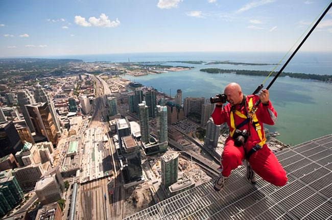 Photographing Atop A 1200-foot Tower