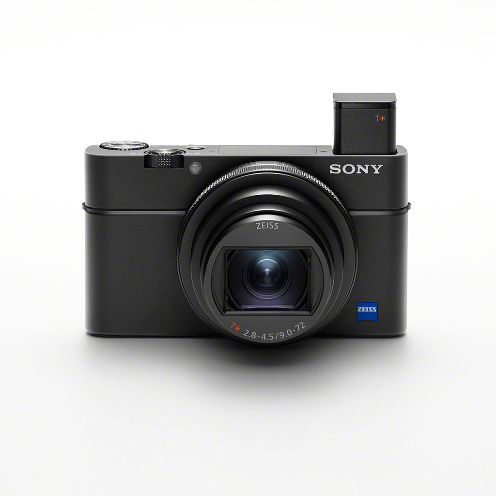 Sony Cyber-shot DSC RX100 VII : Front View