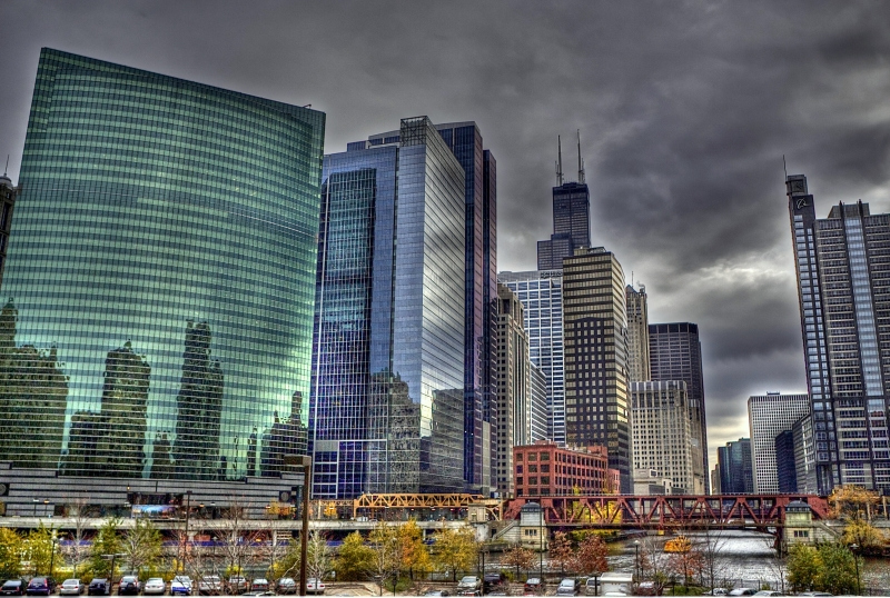 """""""Chicago Downtown"""" by Jp Boustany"""