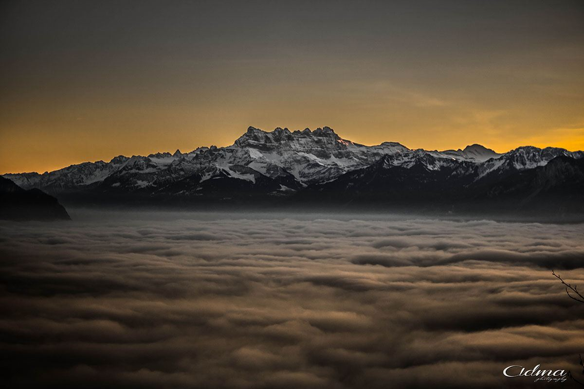 """""""Over the clouds / Switzerland"""" by David Miguel"""
