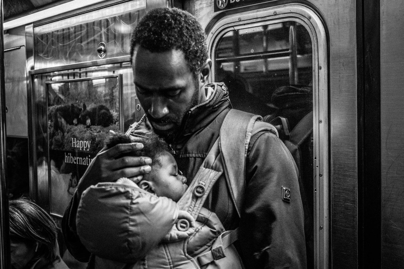 """""""Subway Father"""" by Claude Beller"""