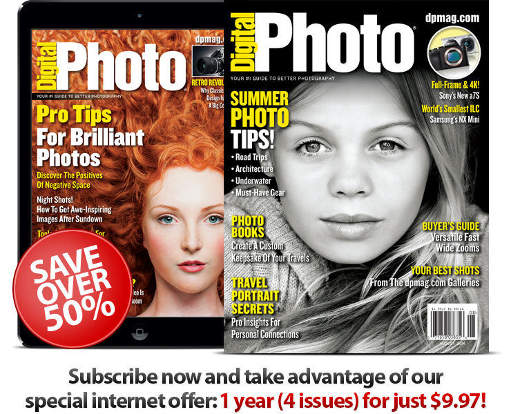Subscribe to Digital Photo Magazine