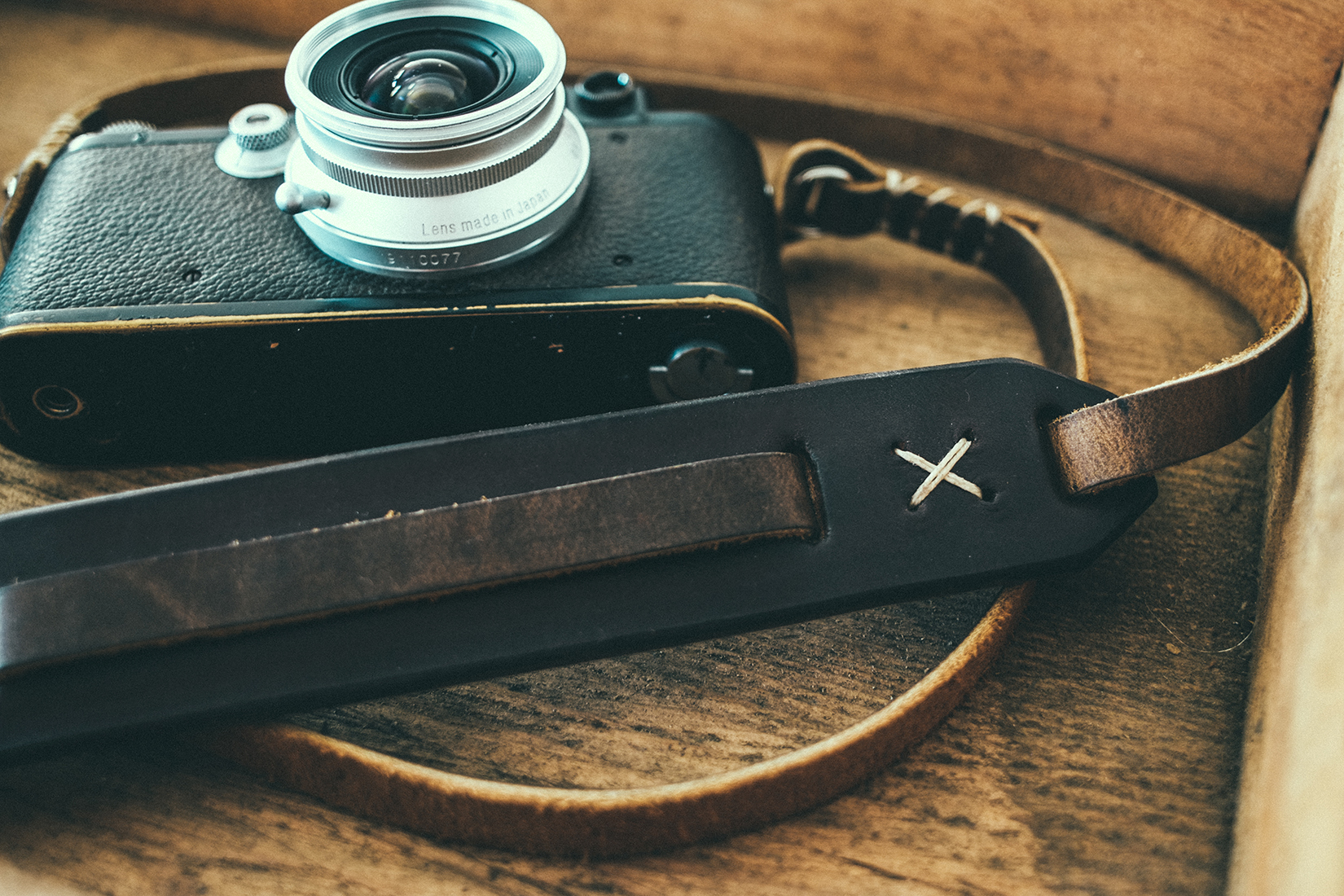 The beautiful camera straps from Cub & Company make any camera look better.